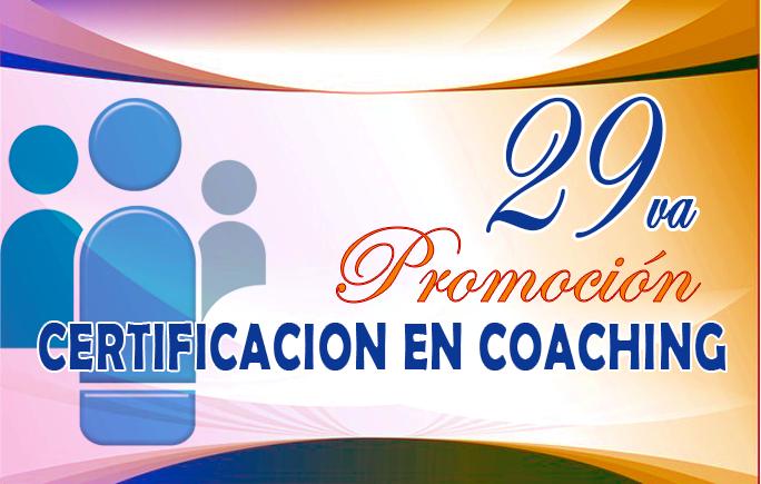 29va. Certificación en Coaching Profesional